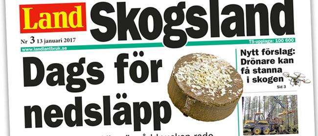 LandPuck i Skogsland